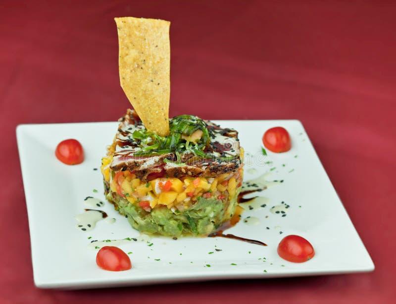 Download Gourmet Tuna Salad stock photo. Image of salad, appetizer - 12603382