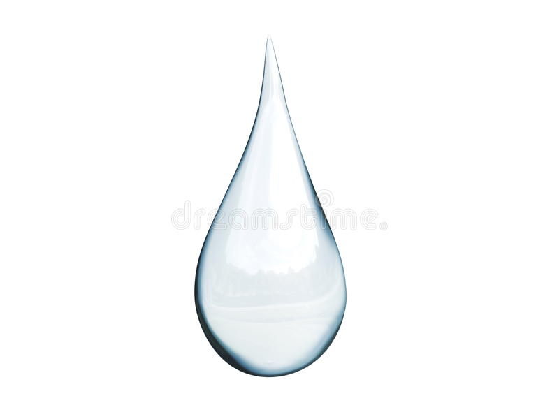 Goutte de l'eau illustration stock