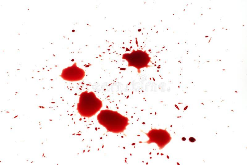 Goutte de sang images libres de droits