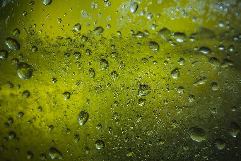 Gouttes de pluie sur la tente photo libre de droits