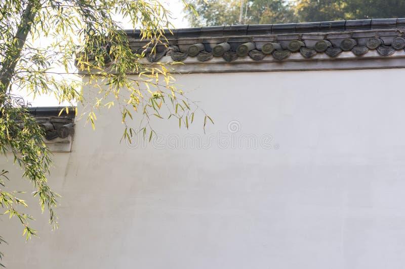 Gouttières classiques chinoises de style photographie stock