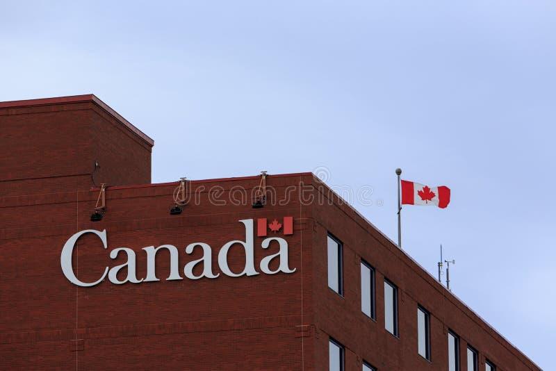 Gouvernement du bâtiment de Canada photos stock