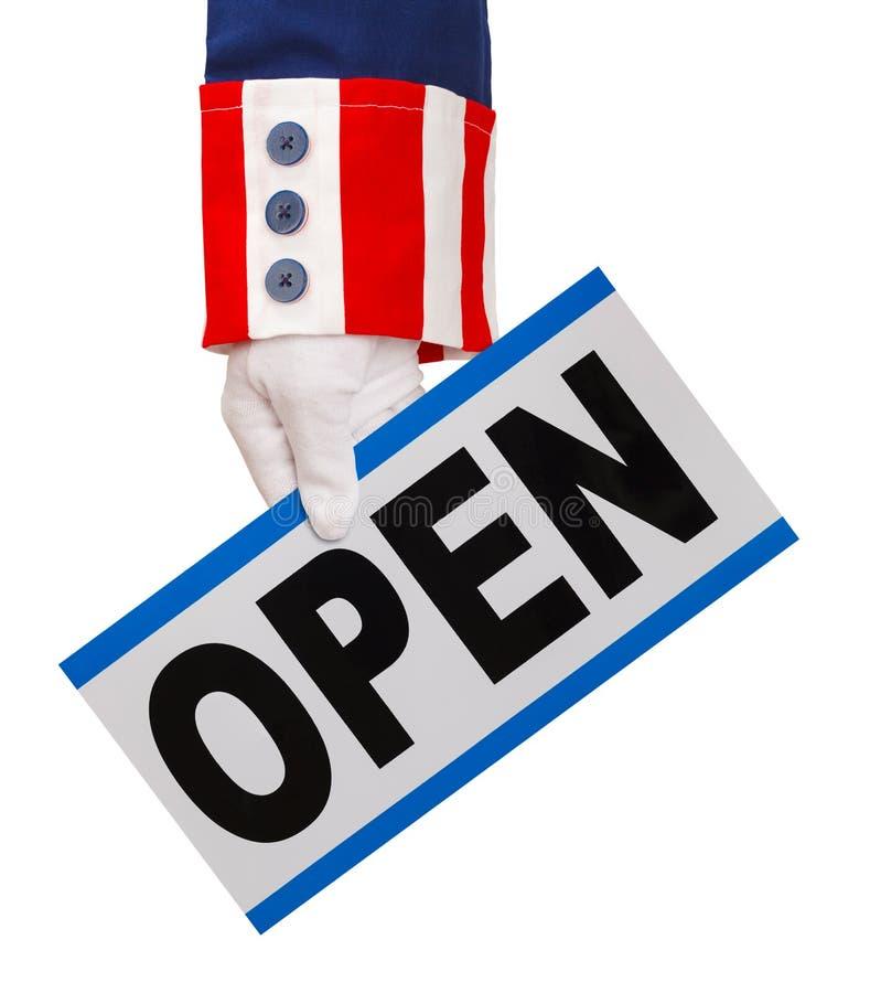 Gouvernement ouvert photos stock