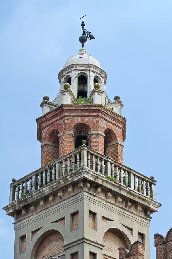 Download Gouverneurspaleis. Cento. Emilia-Romagna. Italië. Stock Afbeelding - Afbeelding bestaande uit building, palace: 29513363