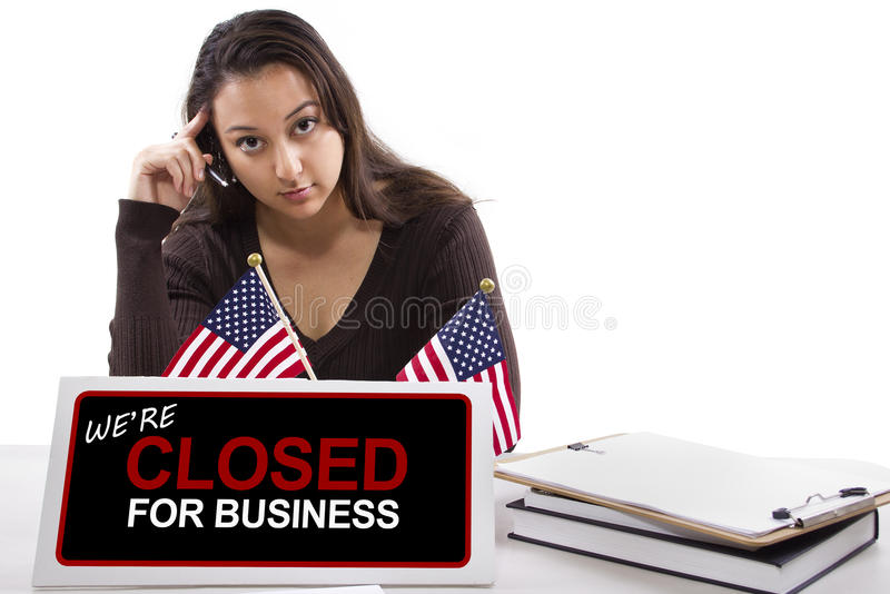 Download Goverment Shutdown stock image. Image of deficit, budget - 34618183