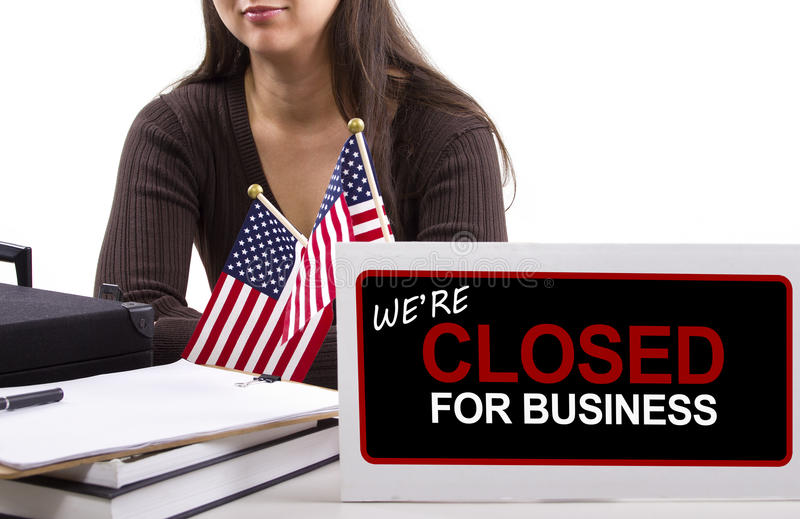 Download Goverment Shutdown stock image. Image of budget, holidays - 34618207