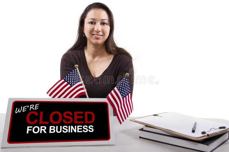 Download Goverment Shutdown stock photo. Image of closed, federal - 34618232