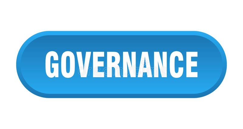 Governance button. Governance rounded isolated sign.  governance stock illustration