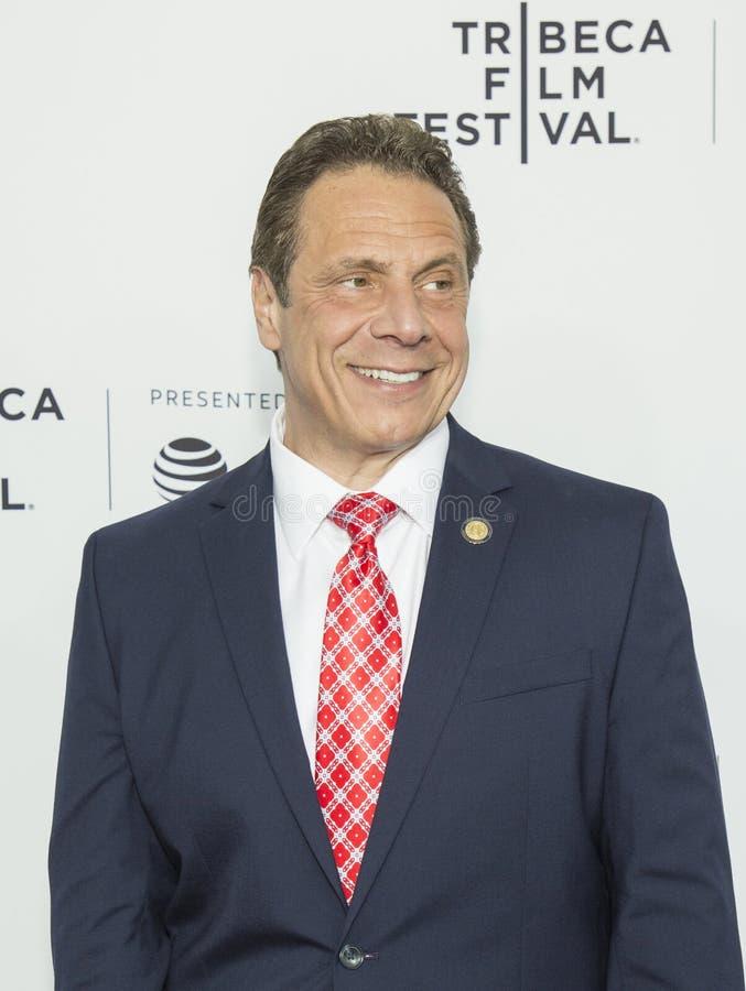 Governatore Andrew Cuomo di New York fotografia stock