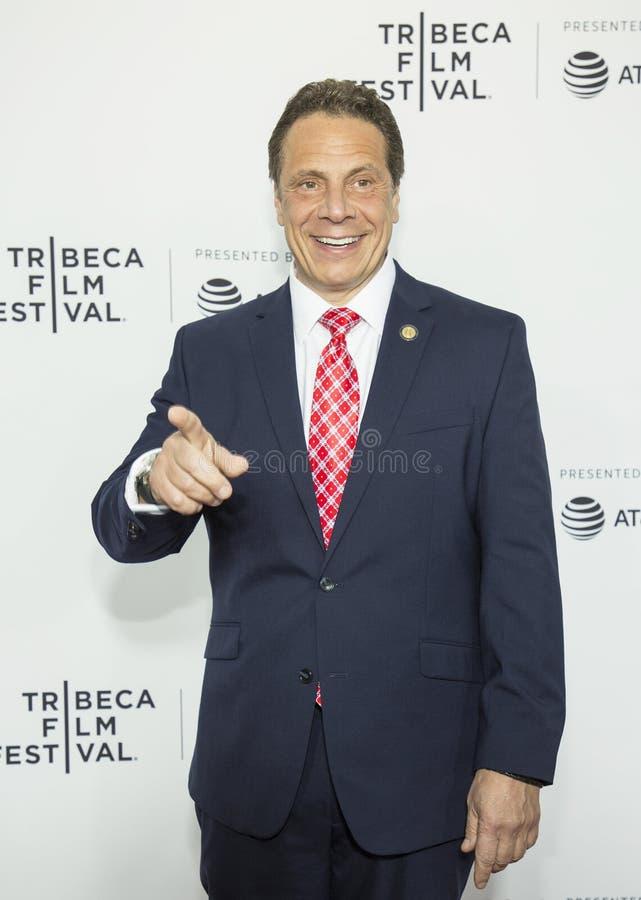 Governatore Andrew Cuomo di New York fotografia stock libera da diritti