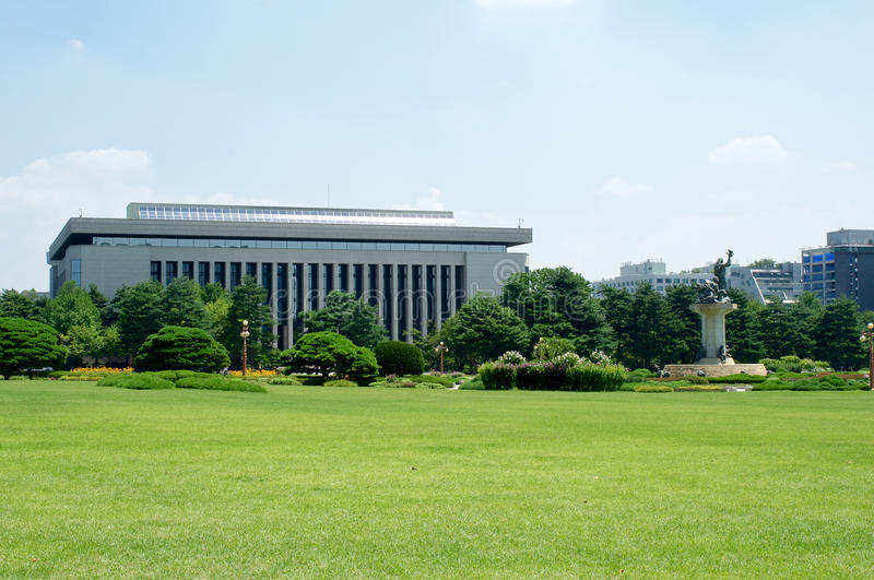 Government Assembly In Seoul In South Korea Stock Image