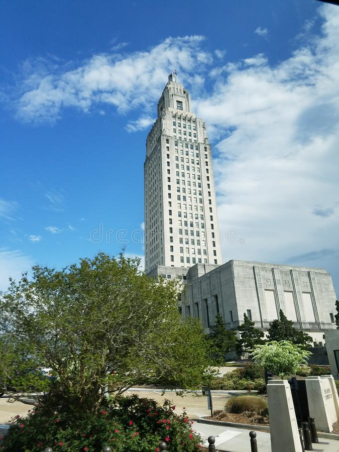 Capital Building Baton Rouge, LA royalty free stock image