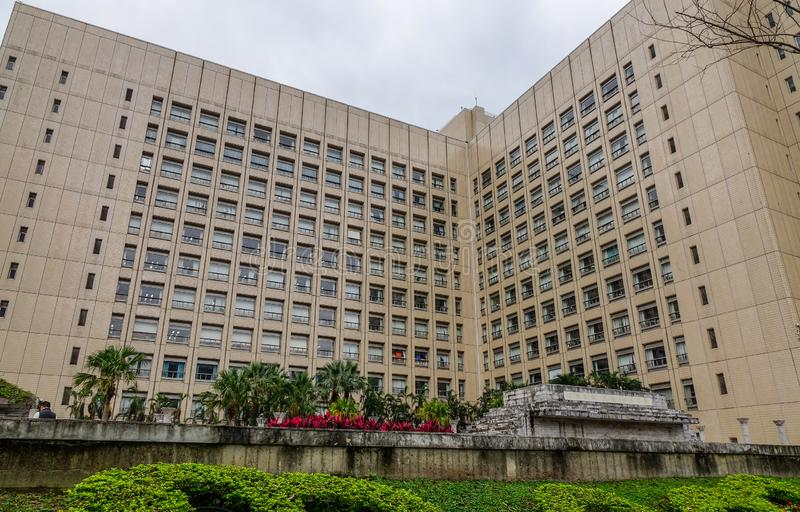 Government building in Taipei, Taiwan stock photo