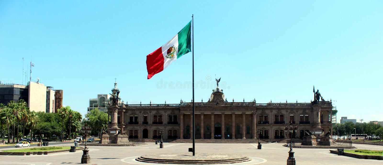 Government Offices of the State of New Leon Monterrey royalty free stock photography