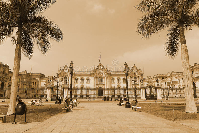 Government palace royalty free stock photos