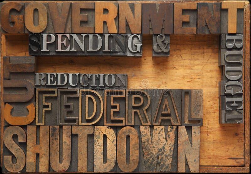 Government shutdown stock photos