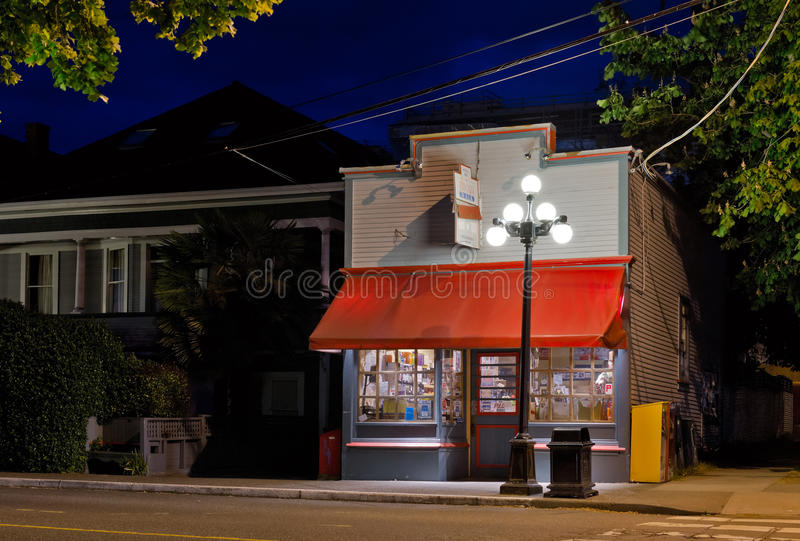 Government Street corner store royalty free stock image