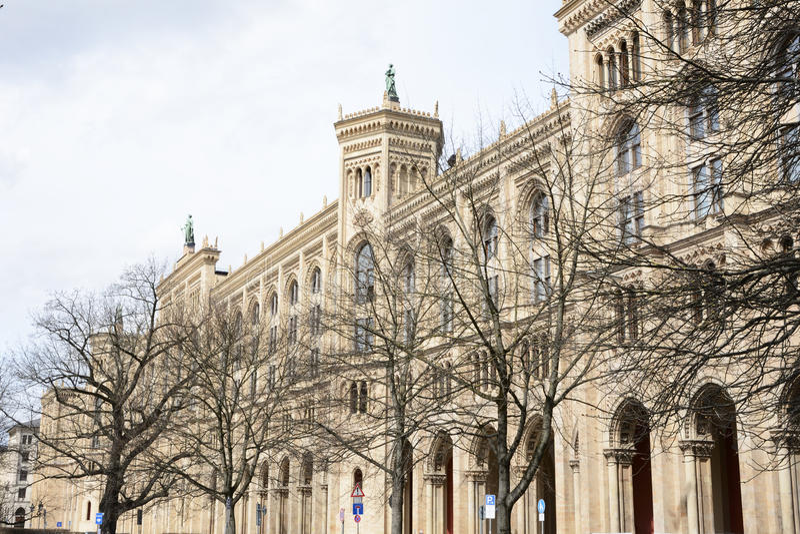 Government Of Upper Bavaria Stock Photos