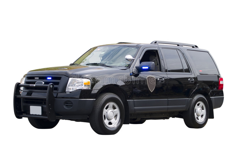 Government Vehicle Isolated stock images