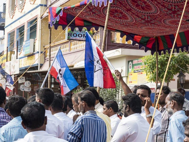 Governo avveduto dell'India di manifestazione fotografie stock