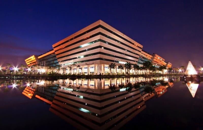 Governo Bangkok di costruzione complessa Tailandia fotografie stock