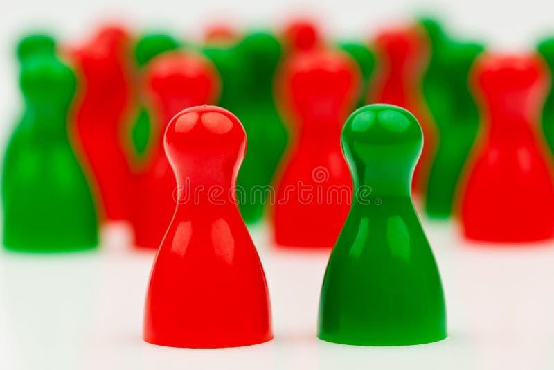 governo di coalizione Rosso verde immagini stock libere da diritti