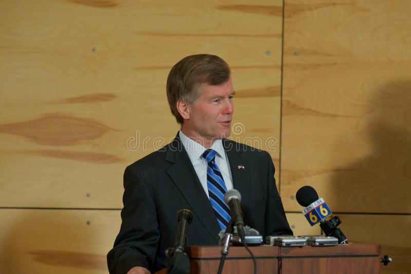 Download Governor Bob McDonnell VA editorial image. Image of conception - 23561730