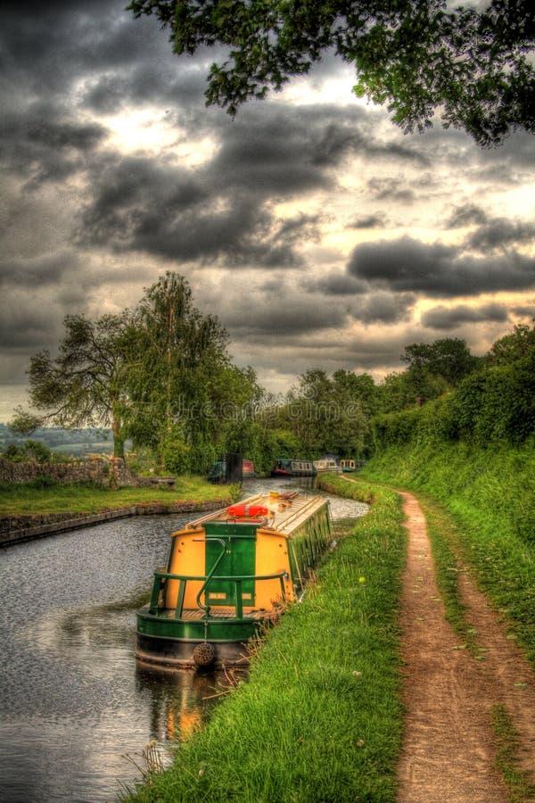 Govilon Canal stock images