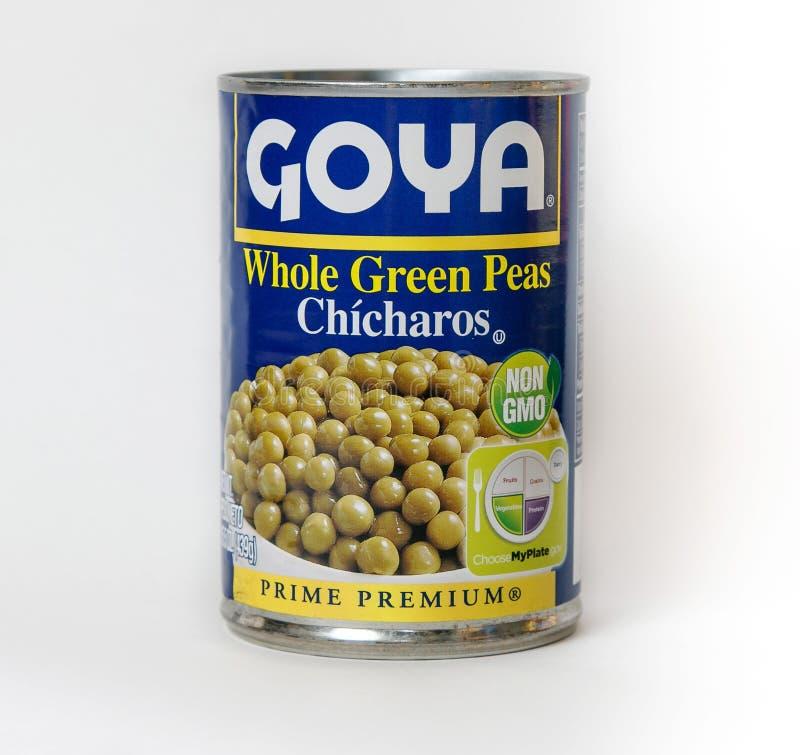 Goya Peas imagen de archivo libre de regalías