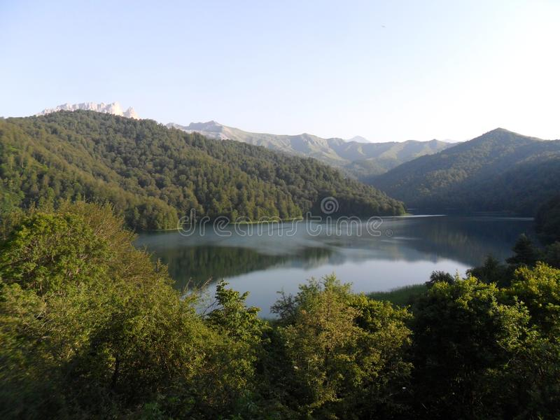 Goygolmeer, Khanlar-gebied, Azerbeidzjan stock foto