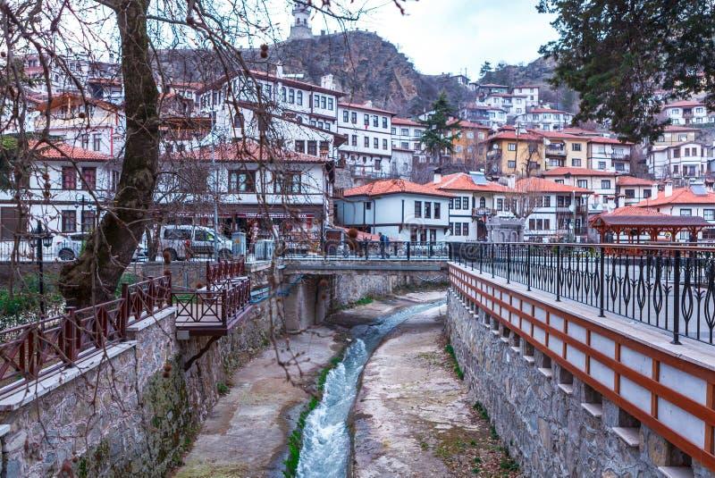 Goynuk y arroyo de Goynuk en Bolu fotos de archivo