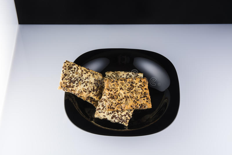 Gozinaqi et biscuits image libre de droits