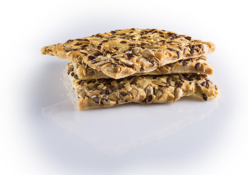 Gozinaqi et biscuits photographie stock