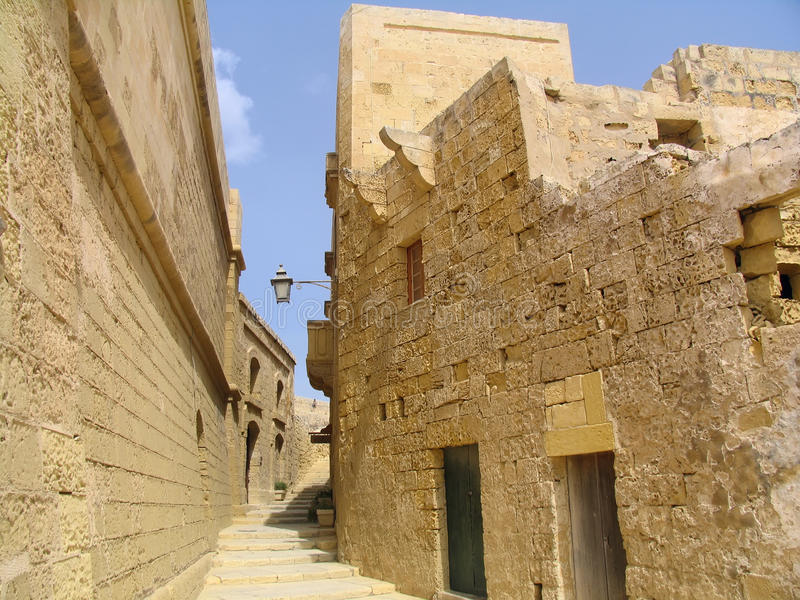 gozo Μάλτα ακροπόλεων στοκ εικόνα με δικαίωμα ελεύθερης χρήσης