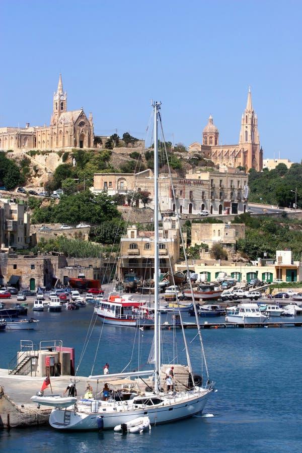 gozo malta стоковые фотографии rf