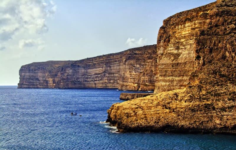 gozo malta стоковая фотография rf
