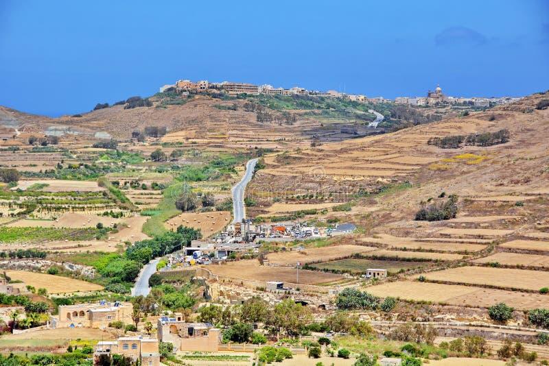 Gozo, Malta stockbild