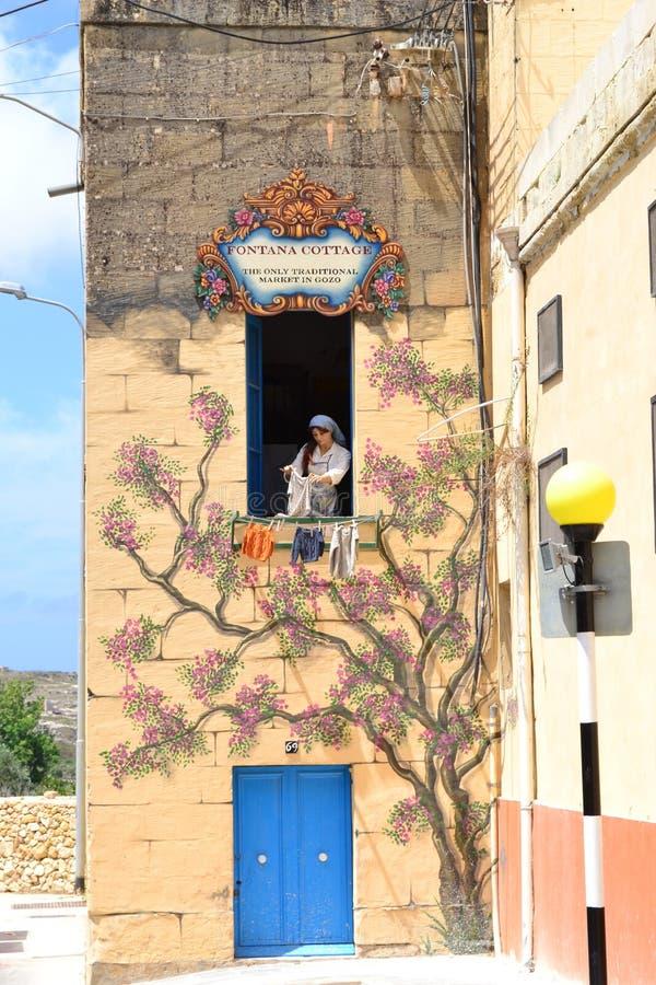 Gozo, Malta, workcraft stock image