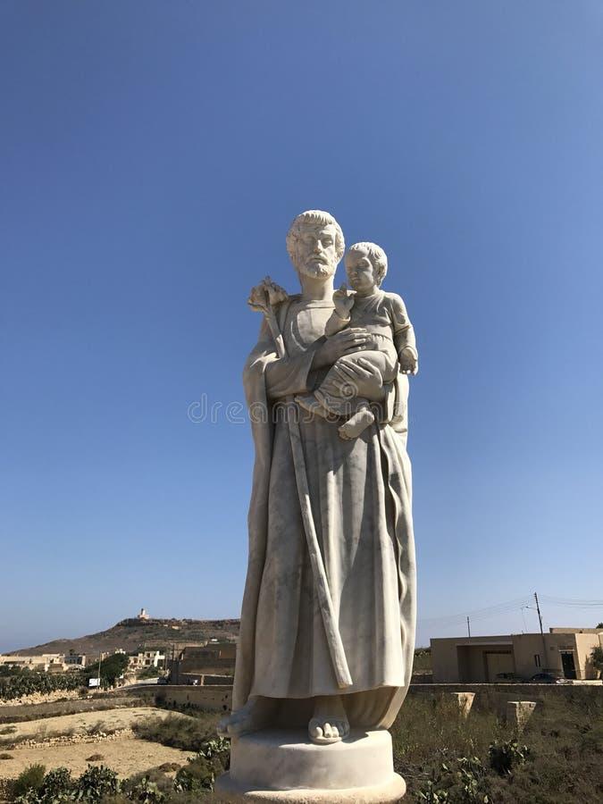 Gozo Malte photo stock