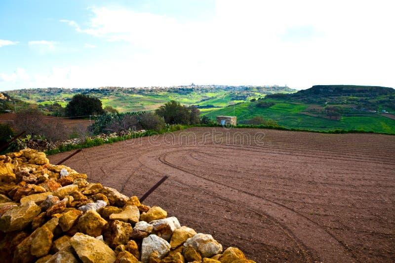 gozo wyspy krajobraz Malta obrazy stock