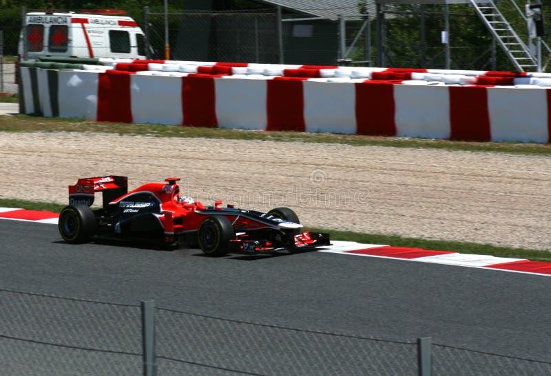 GP de Montmelo F1 imagens de stock royalty free