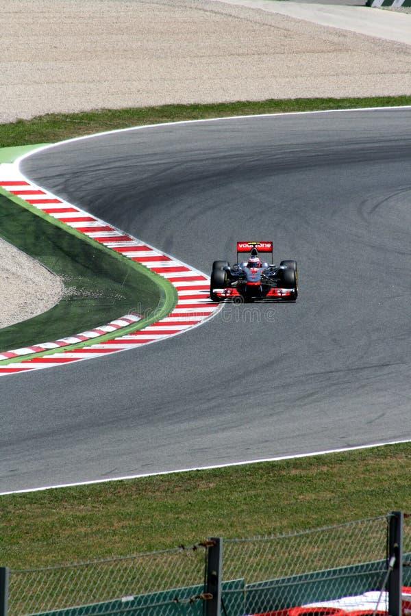 GP de Montmelo F1 fotografia de stock