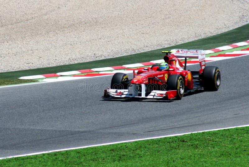 GP de Montmelo F1 imagem de stock