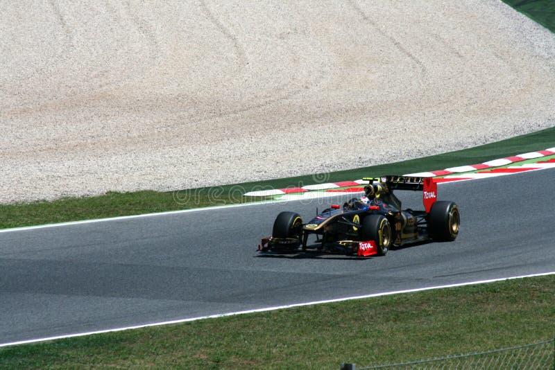 GP de Montmelo F1 fotos de stock royalty free