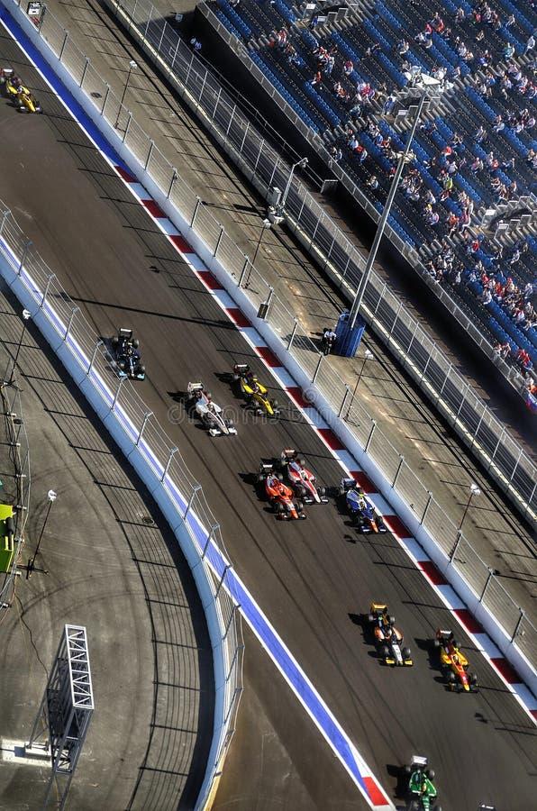 GP3 em Sochi fotos de stock royalty free