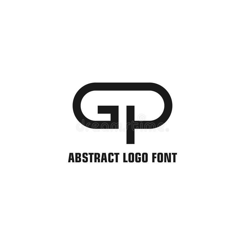 Gp listu logo ilustracji