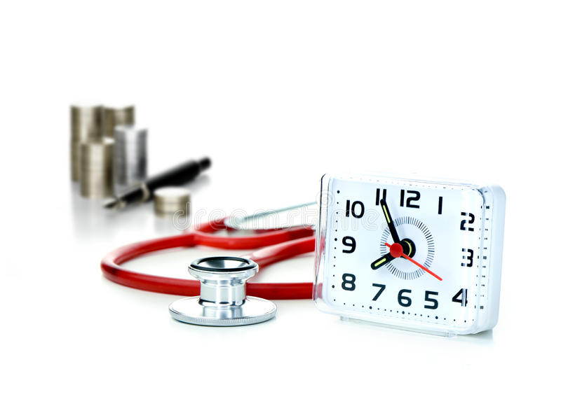 GP Surgery Open Hours royalty free stock image