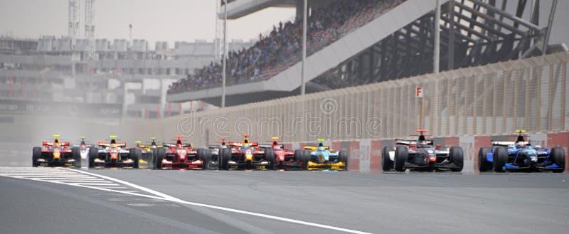 GP2 Azië 2008 royalty-vrije stock foto