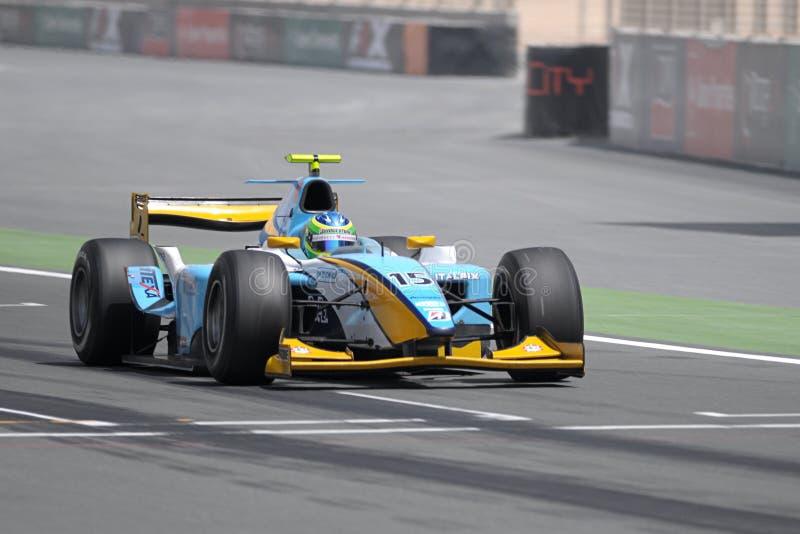 GP2 Azië 2008 ronde 5 - Doubai stock foto