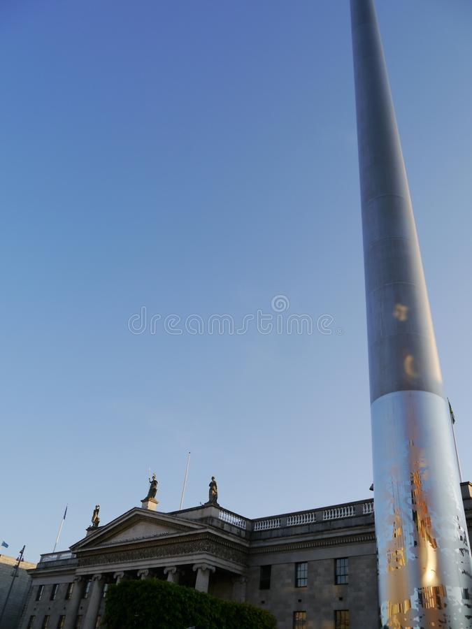 GPOEN och tornspiran royaltyfria foton